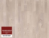 "Паркетная доска FocusFloor 3S ""Oak Ostro white matt"""