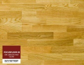"Паркетная доска FocusFloor 3S ""Oak Libeccio high gloss"""