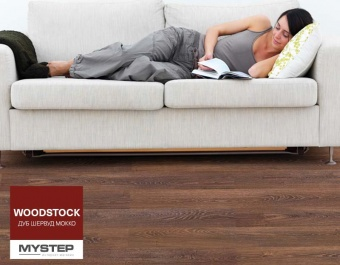 "Ламинат Tarkett WOODSTOCK ""Mocha Sherwood Oak"""